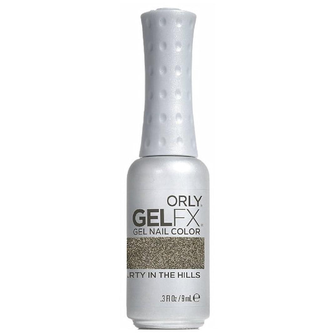 不可能なバリアミットOrly GelFX Gel Polish - Party in the Hills - 0.3oz / 9ml