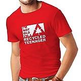 lepni.me Camisetas Hombre No Soy Viejo Soy un Adolescente Re