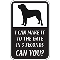 CAN YOU?マグネットサイン:土佐犬(スモール) I CAN MAKE IT TO THE GATE IN 3 SECONDS, CAN YOU? 英.