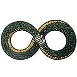 Parche termoadhesivo para la ropa, diseño de Ouroboros El símbolo infinito