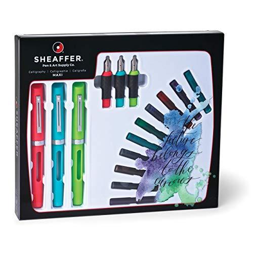 Sheaffer Calligraphy - Pack de 3 plumas estilográficas