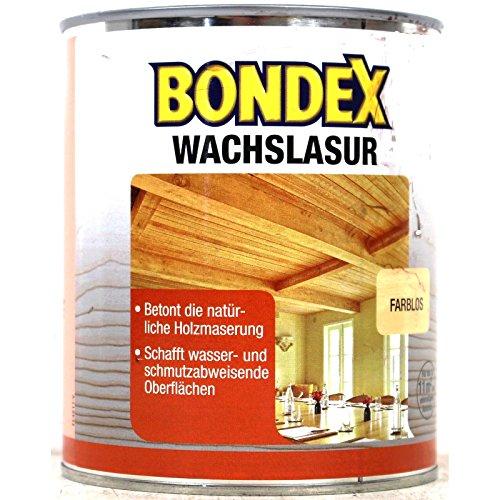 Bondex Wachslasur Hellbraun 0,75 l - 352673