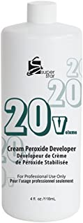 Super Star Cream Peroxide Developer with 20 Volumes