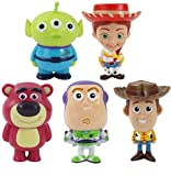 Toy Story Action Figures–Set of 5 Mini Figurines for Kids– Woody Buzz Lightyear Jessie Toy Story Cake Toppers – Great Party Favors– Action Figure Set – Toy Story Birthday Supplies Toys for Kids Gift