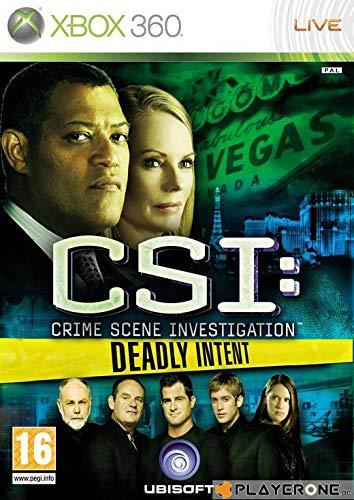 CSI Deadly Intent - Xbox 360