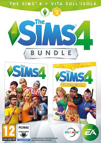 The Sims 4 - Espansione Vita Sull'Isola (Codice digitale incluso nella confezione) - [Bundle] PC [Importación italiana]