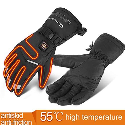 WAINEO Guantes térmicos eléctricos de Invierno Guantes térmicos Imp