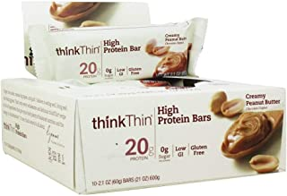 Think Thin Creamy Peanut Butter, 2.1oz  (10 Count)
