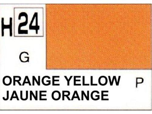 Gunze - Avion Miniature - Peinture maquette Gunze Jaune Orange - H024