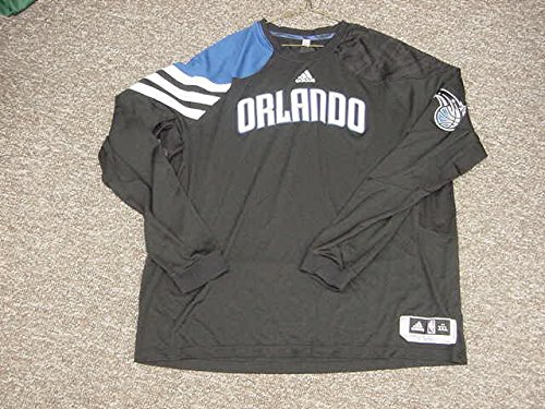 Justin Harper Orlando Magic 2011-2012 Game Worn Long Sleeve Shooting Shirt