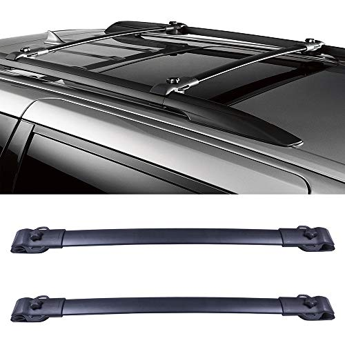 OCPTY Roof Rack Cargobar Carrier For Toyota Sienna 2011-2020 Rooftop Luggage Crossbars - Fits Side Rails Models ONLY