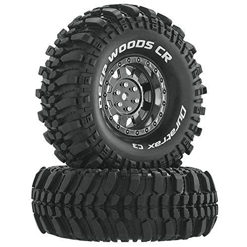Duratrax DTXC4027 RC Rock Crawler Tires with Foam Inserts, C3 Super Soft...