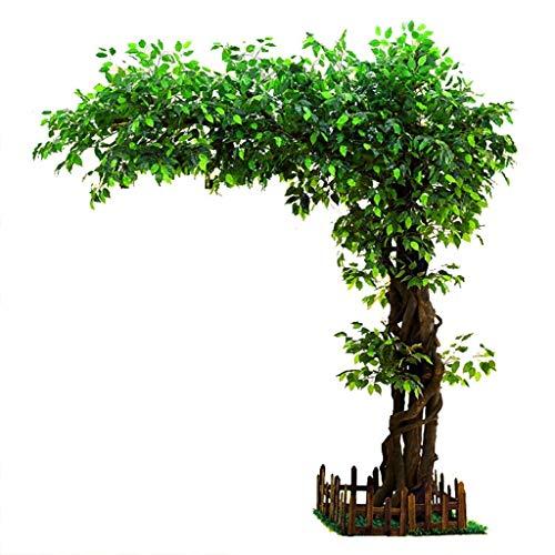 Arbustos Artificiales y Topiarios Árbol Artificial Gran árbol de Banyan Planta Grande Interior del...