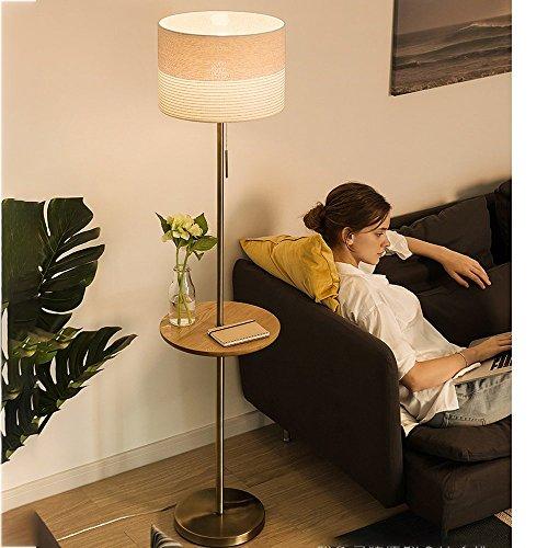WK Stehleuchten Stehlampe Stoff Eisen 35 * 156cm Couchtisch Nordic Wohnzimmer minimalistisch Moderne europäische kreative Schlafzimmer Nachttischlampe Stehlampe (Farbe: C) lili (Color : C)