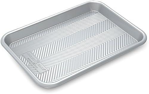 wholesale Nordic Ware outlet sale Prism new arrival Quarter Sheet, Metallic sale