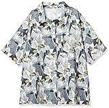 ウィゴー(レディース)(WEGO) ヴィンテージプリントシャツ【ホワイト/F】