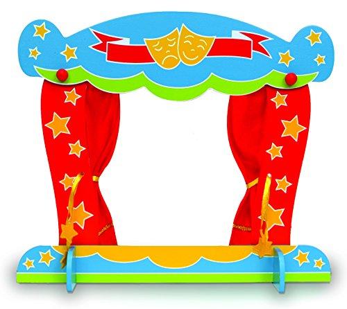 Fiesta Crafts T-2431 - Fingerpuppentheater