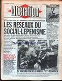 LIBERATION [No 2188] du 03/06/1988 - LE FN CONSTRUIT SES ARRIERES...