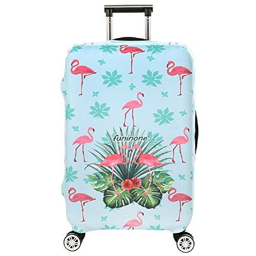 Cubierta de Equipaje en Flamingo Form,Duradero Protector