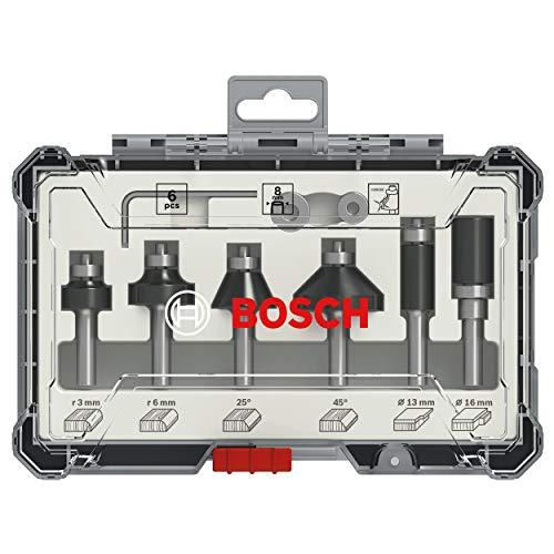 Bosch Professional 6tlg. Rand- und...
