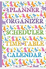Planner, Organizer, Scheduler, Time Table, Calendar: 20__ Blank Colorful Butterfly Time Management Book: Monthly, Daily, Weekly: January to December: ... Day Timer: For busy People on the go! Paperback