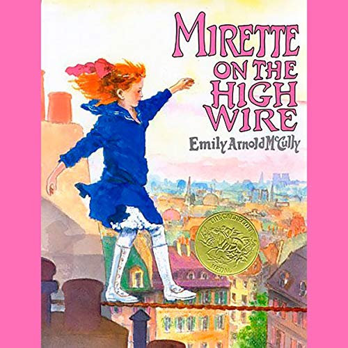 Mirette on the High Wire audiobook cover art