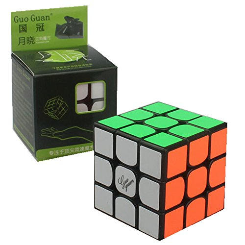 CuberSpeed Moyu Guoguan Yuexiao Black Magic Cube