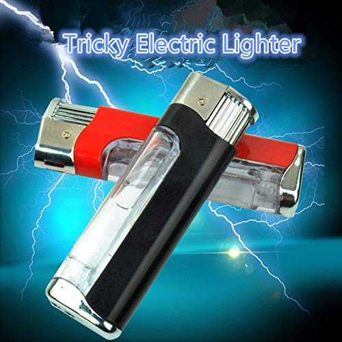 LYPYY Schock Feuerzeuge Shocking Pen Streich Spielzeug Gag Geschenke Stressabbau Hot Toys Praktische Witze, 1 STÜCK Radom Farbe