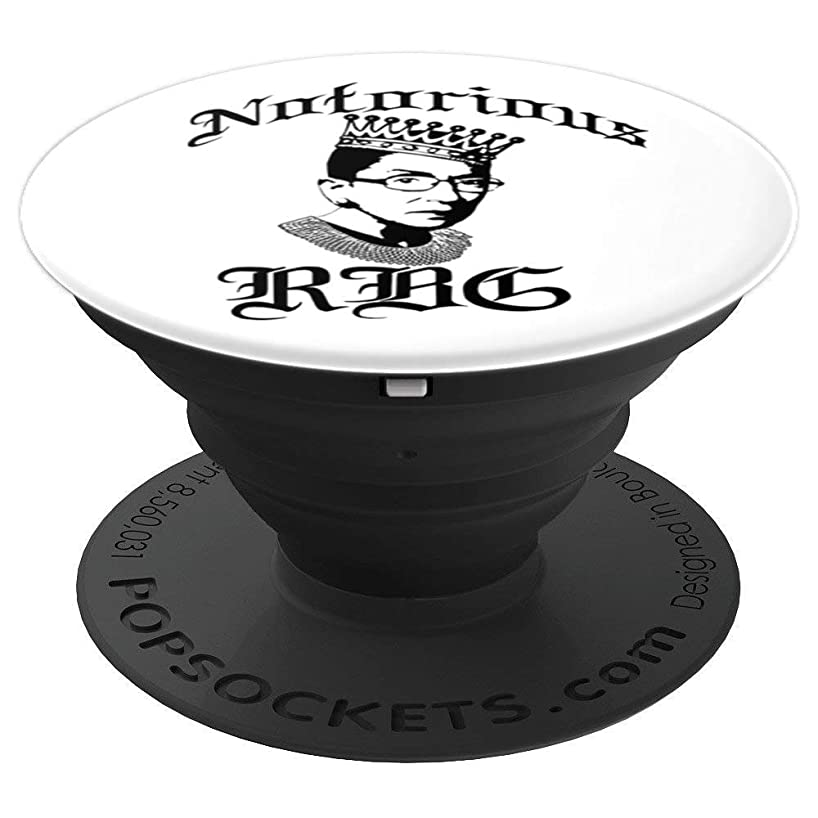 NOTORIOUS RBG Crown Meme Feminist Ruth Bader Ginsburg SCOTUS - PopSockets Grip and Stand for Phones and Tablets