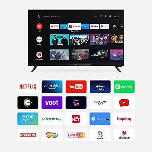 OnePlus 80 cm (32 inches) Y Series HD Ready LED Smart Android TV 32Y1 (Black) (2020 Model) 3