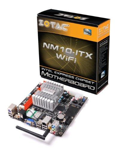 Zotac Mainboard (Intel D525, DDR2-800, Intel GMA 3150, PCIe-X1, WLAN, USB 2.0, HDMI, VGA, Mini ITX)