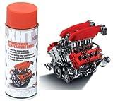 E-Tech, Vernice Spray per Pinza del Freno e Blocco Motore, Resistente a Temperature Estremamente Elevate (Fino a 650 °C), Colore: Rosso