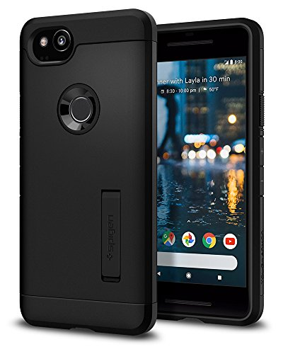 Spigen Tough Armor Designed for Google Pixel 2 Case (2017) - Black