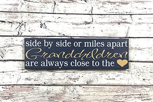 Signos regalo para abuelos, abuelos, día de los abuelos, día de los abuelos, regalo de cumpleaños para abuelas, abuelos, regalo para la nueva abuela