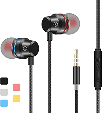 d460f45a626 Earbuds Stereo Headphones in-Ear Earphones with.