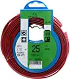 Profiplast PRP500056 - Bobina de cable (H07V-U, 1,5 mm² x 25 m), color rojo