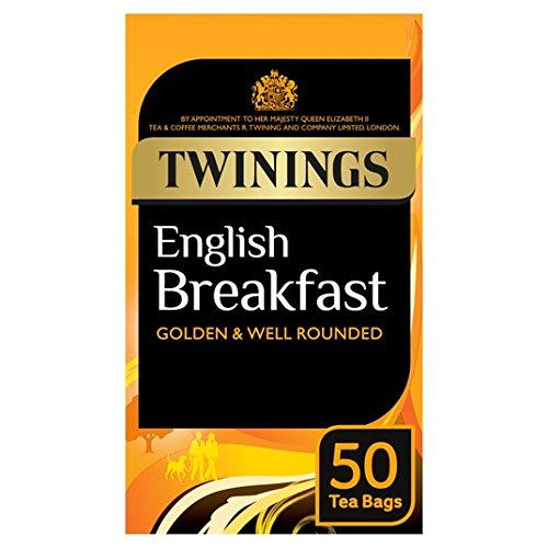 Twinings English Breakfast Tea Bags 50 pro Packung