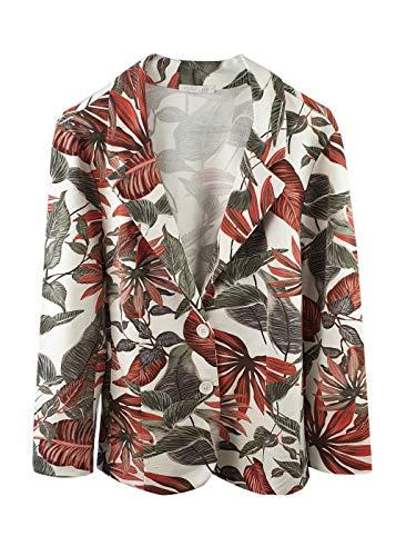 HEIMATLIEBE Damen Blazer mit Blumendruck