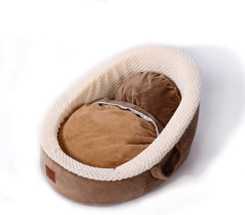 New Pet Kennel Cat Litter Plush Fashion Cute Pet Supplies Pet Bed Dog Supplies
