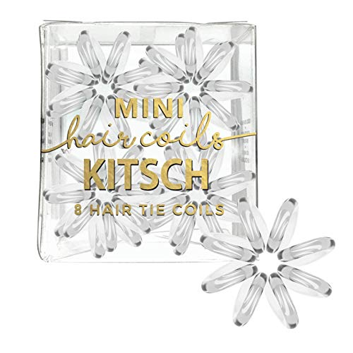 Kitsch Mini Spiral Hair ties, Coil Hair Ties, Phone Cord Hair Ties,...