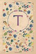 """Τ: τ Tau, Initial Monogram Greek Alphabet Letter Τ Tau, Cute Cover, Lined Notebook/Journal Gift Idea, 100 Pages, 6""""x9"""" Lig..."""