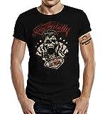 Gasoline Bandit T-Shirt original Biker Rockabilly Design: Las Vegas XXL