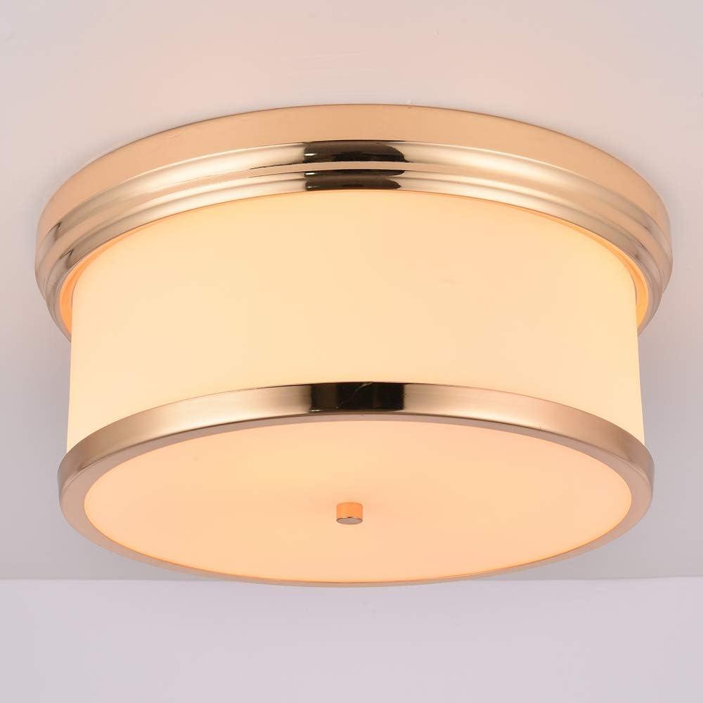 MonDaufie 3-Light 16 Inch 25% OFF Flush Ceiling Light Max 46% OFF Mount LED