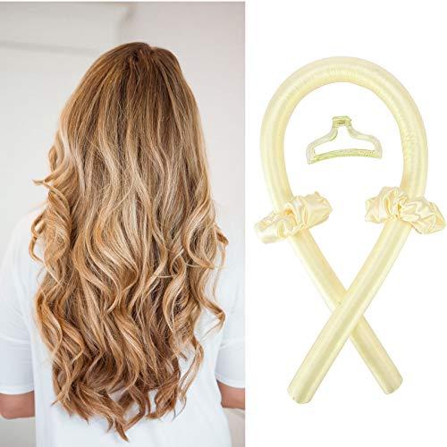 EPODA Rizador de pelo de seda sin calor, herramientas para peinar el cabello largo y medio para mujeres