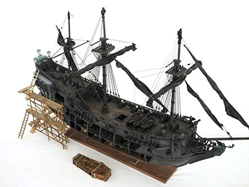 Top Level of The Black Pearl Model Wood Ship kit DIY Product (All-Scenario Version English Detailed Manuals)