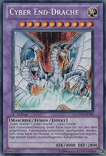LCGX-DE181 - Cyber End-Drache - Secret Rare - Yu-Gi-Oh - Deutsch - 2. Auflage