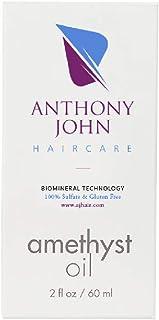 Anthony John Haircare - Amethyst Oil Hair Treatment | Style Softening, Strengthening & Enhances Hair Shine, Reduces Dry Da...