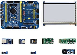 waveshare Open746I-C Package B STM32F7 Development Board STM32F746IGT6 MCU Pretty easy for peripheral expansions Open746I-C Development Board+7inch Capacitive Touch LCD+9 Modules