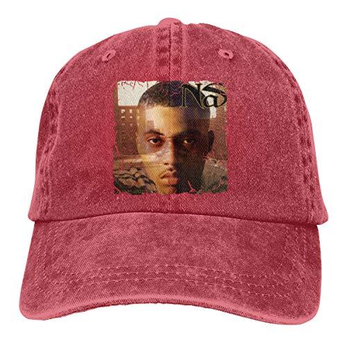 Ehghsgduh Unisex Baseball Caps NAS It was Written Washed Dyed Trucker Hat Adjustable Snapback