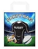 Bolsas de fiesta temáticas de rugby, para regalos, botín, eventos, colores Glasgow Warriors (paquete de 6)